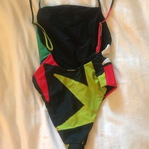 Mara Hoffman Swim - Mara Hoffman bold print one piece swimsuit